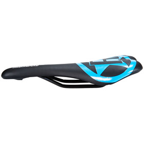 Reverse Fort Will Style Saddle CrMo black/turquoise